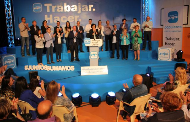 Más de 700 personas en la presentación de la candidatura del Partido Popular de Puerto Lumbreras, encabezada por Mª Ángeles Túnez - 3, Foto 3