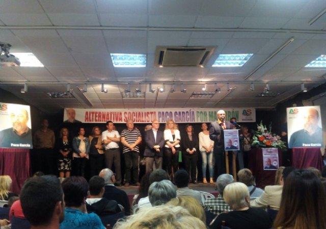 Paco García presenta la candidatura con la que optará a la reelección el próximo 24 de mayo - 3, Foto 3