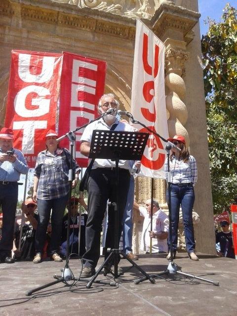 USO celebro el 1° de mayo con una apuesta por una autentica regeneración moral, democrática, polítca, social y sindical - 2, Foto 2