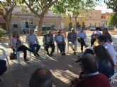 Ganar Cartagena conoce de primera mano 'el olvido en el que el PP tiene al barrio de Vista Alegre'