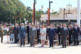 Garre asiste a la conmemoración de la Gesta del 2 de mayo