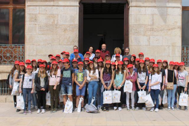 44 alumnos franceses conocen Mazarrón gracias a un intercambio con el IES Domingo Valdivieso - 1, Foto 1