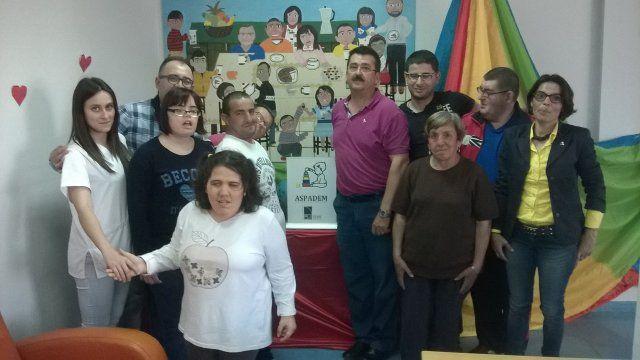 ASPADEM dona más de 1000 euros en material al centro de día de personas con discapacidad - 1, Foto 1