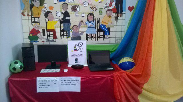ASPADEM dona más de 1000 euros en material al centro de día de personas con discapacidad - 2, Foto 2
