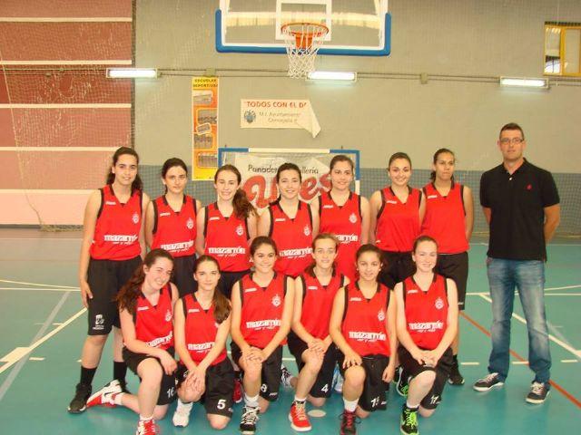 El Bahía Mazarrón basket femenino se proclama campeón regional de cadetes - 1, Foto 1