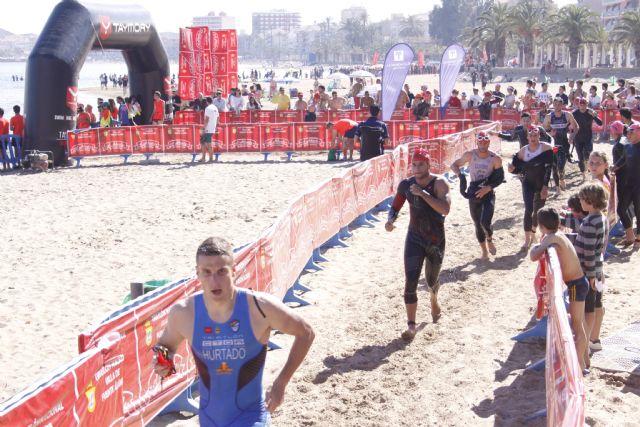 Cerca de mil participantes completaron desde Mazarrón una nueva edición del triatlón nacional de Fuente Álamo, Foto 3