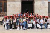 44 alumnos franceses conocen Mazarr�n gracias a un intercambio con el IES Domingo Valdivieso
