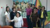 ASPADEM dona m�s de 1000 euros en material al centro de d�a de personas con discapacidad
