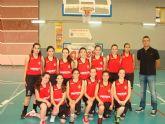 El Bah�a Mazarr�n basket femenino se proclama campe�n regional de cadetes