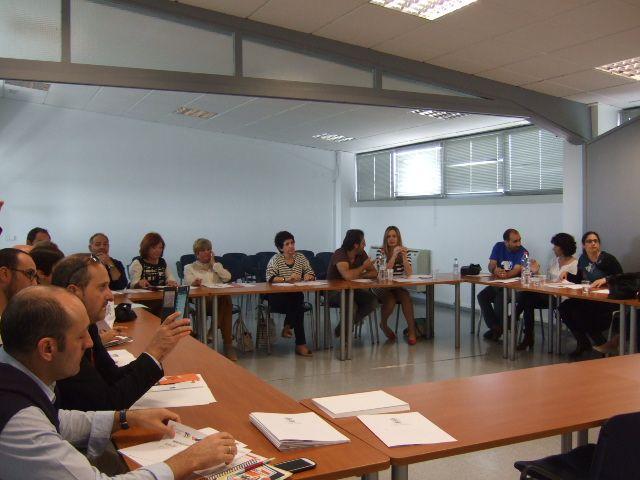 Se constituye en Totana la Mesa Técnica de Coordinación del Sistema de Garantía Juvenil de los municipios de Totana, Alhama, Aledo y Librilla, Foto 2