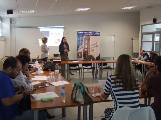 Se constituye en Totana la Mesa Técnica de Coordinación del Sistema de Garantía Juvenil de los municipios de Totana, Alhama, Aledo y Librilla, Foto 4