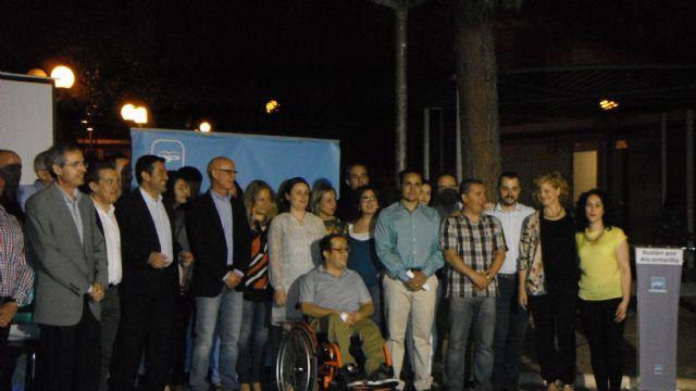 El equipo del Partido Popular presenta a sus candidatos en Campoamor - 1, Foto 1