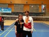 Dos campeonatos de España y dos subcampeonatos para los clubes de la Regi�n en los Campeonatos España Veteranos 2015 de B�dminton