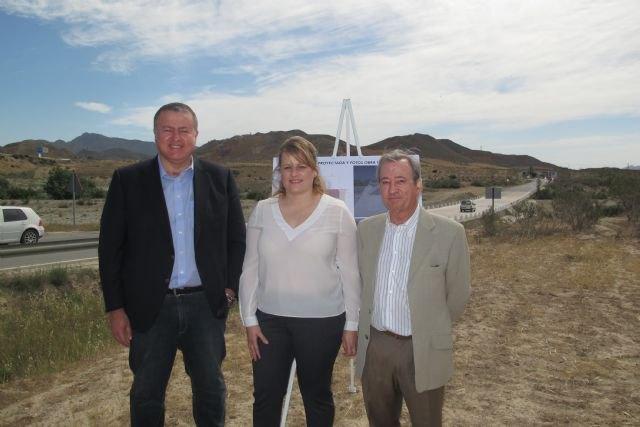 Fomento mejora el cruce de la carretera de Mazarrón a Morata sobre la rambla de las Moreras - 1, Foto 1