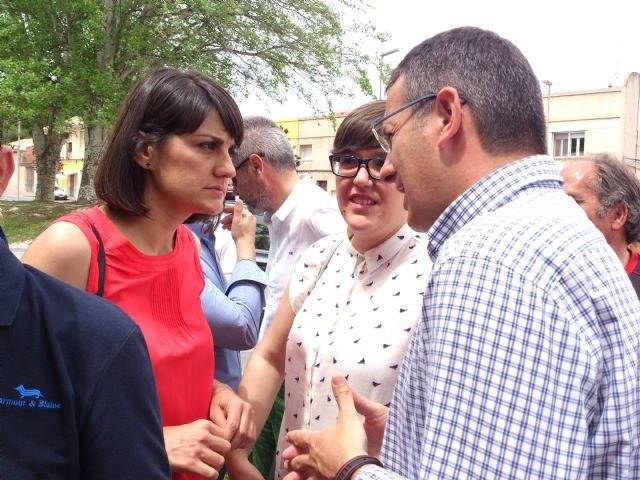 Pedro Sánchez da su apoyo al proyecto socialista de Alhama en un encuentro con el candidato Diego Conesa en Bullas, Foto 4