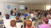 El PP de Puerto Lumbreras celebra un acto sectorial con personas mayores en el Centro de la 3ª Edad Vicente Ruiz Llamas