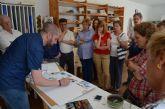 El pintor Nono García imparte una 'Masterclass' de acuarela a los alumnos de los talleres municipales de pintura