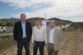 Fomento mejora el cruce de la carretera de Mazarrón a Morata sobre la rambla de las Moreras