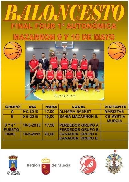 Mazarrón acoge este fin de semana la final de la primera autonómica de baloncesto - 2, Foto 2