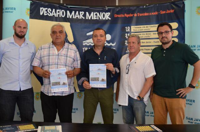 San Javier crea Desafío Mar Menor, su propio Circuito Popular de Travesías a nado - 1, Foto 1