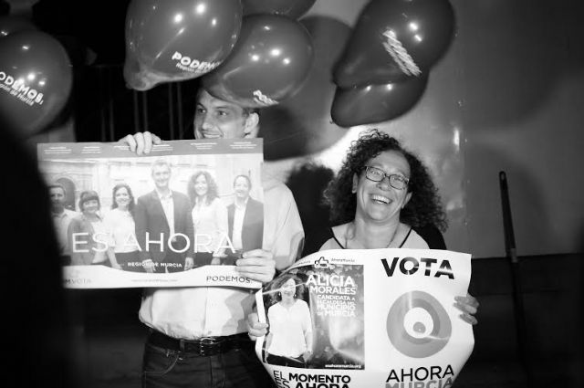 Ahora Murcia agradece a podemos su apoyo explícito como única candidatura ´hermana´ en el municipio - 1, Foto 1