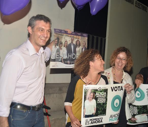 Ahora Murcia agradece a podemos su apoyo explícito como única candidatura ´hermana´ en el municipio - 2, Foto 2