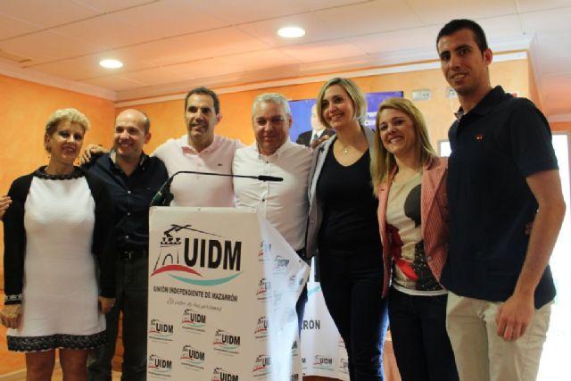 UIDM presenta un programa repleto de propuestas viables y necesarias para seguir avanzando en el desarrollo de Mazarrón - 1, Foto 1