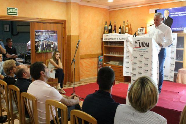 UIDM presenta un programa repleto de propuestas viables y necesarias para seguir avanzando en el desarrollo de Mazarrón - 3, Foto 3