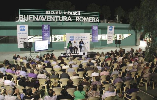 El PP de Puerto Lumbreras arranca la campaña electoral con Valcárcel - 1, Foto 1