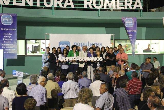 El PP de Puerto Lumbreras arranca la campaña electoral con Valcárcel - 2, Foto 2