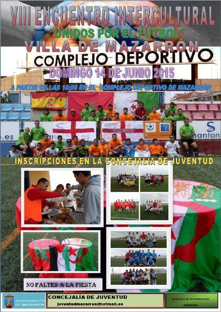 Juventud convoca el VIII encuentro intercultural de fútbol Villa de Mazarrón - 2, Foto 2