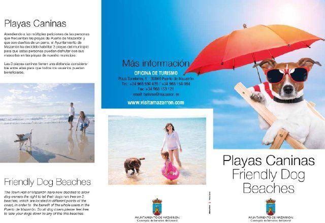 Servicios del Litoral edita las primeras guías informativas sobre las playas caninas - 1, Foto 1