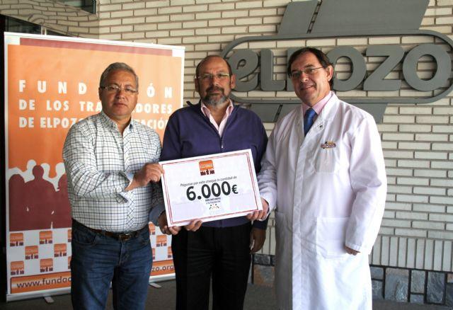 La Fundación de Trabajadores de ElPozo dona 6.000 euros a la Fundación Francisco Munuera Martínez, Foto 1