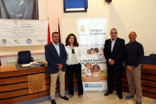 Alcantarilla acoge por primera vez el Campus Experience Fundación Real Madrid - 4, Foto 4