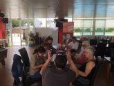 Miembros de la comunidad británica, afincados en San Javier, transmiten sus quejas al candidato local por Ciudadanos