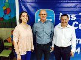 Coronado ofrece su segundo mitin de la campaña electoral en el colegio Cervantes