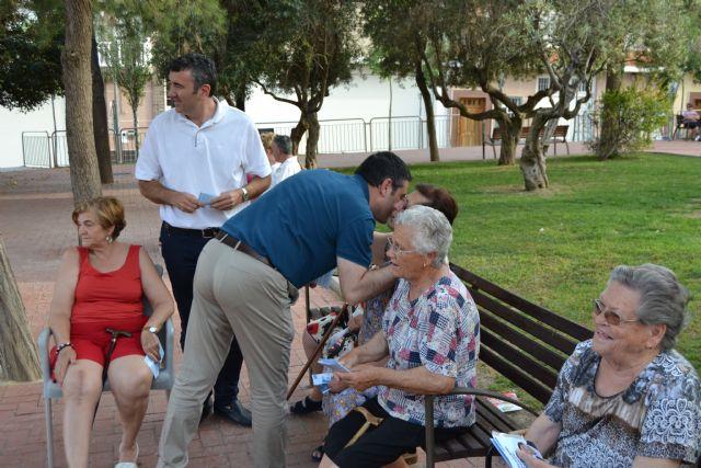 Los candidatos del Partido Popular recorren el Cabezo Verde - 1, Foto 1