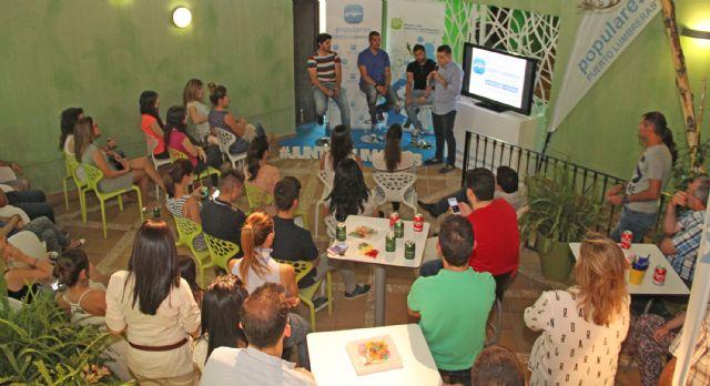 El Partido Popular de Puerto Lumbreras organiza un café con ideas con más de medio centenar de jóvenes - 3, Foto 3