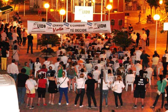 UIDM reitera su compromiso con Puerto de Mazarrón que se vuelca con Ginés Campillo, Foto 1