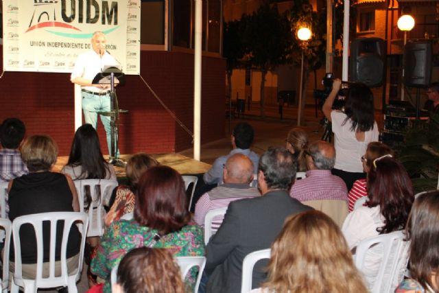 UIDM reitera su compromiso con Puerto de Mazarrón que se vuelca con Ginés Campillo, Foto 2