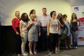 Las mujeres protagonizan el primer mitin de campaña de IU-Verdes/Ganar Cieza