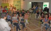 El Partido Popular de Puerto Lumbreras organiza un 'café con ideas' con más de medio centenar de jóvenes