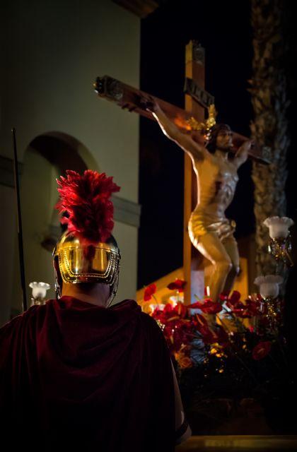 El Via Crucis del Cristo del Mar Menor protagoniza la imagen ganadora del concurso de fotografía de  Semana Santa - 1, Foto 1