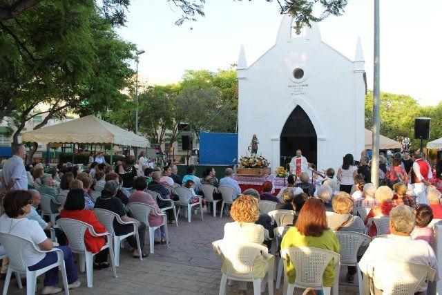 El barrio de San Isidro culmina sus fiestas con sus tradicionales actos religiosos y de convivencia - 1, Foto 1