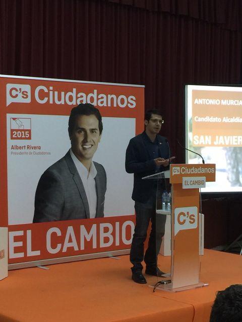 Acto central de campaña de Ciudadanos San Javier - 1, Foto 1