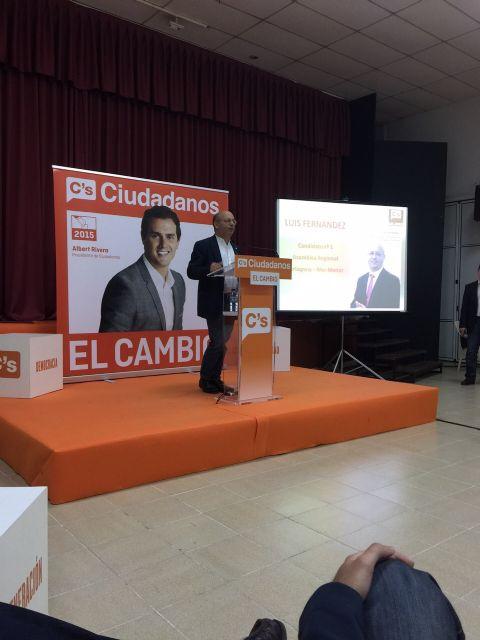 Acto central de campaña de Ciudadanos San Javier - 3, Foto 3