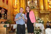 La Alcaldesa de Archena homenajea a Juan Pío Abenza
