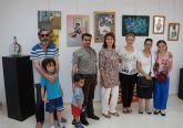 La artista Joaquín García Peñalver muestra sus obras en la Casa de la Cultura 'Pedro Serna' torreña