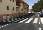 Las obras de mejora de seguridad vial en la avenida Juan Carlos I torreña, en su recta final