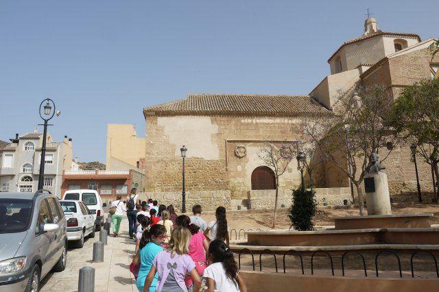 Los escolares celebran el día de los museos con una visita a los yacimientos arqueológicos, Foto 2